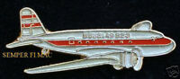 DC-2 HAT LAPEL PIN UP DOUGLAS COMMERCIAL AIRPLANE AIRLINE WING PILOT CREW GIFT