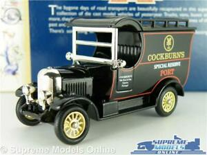 Morris Bullnose Truck Lorry Van Model Cockburn's Port 1:64 Approx Days Gone K8