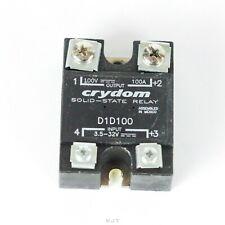 Crydom D1d100 Solid State Relay Ssr 100a 100v 35 32 Vdc Panel Mount