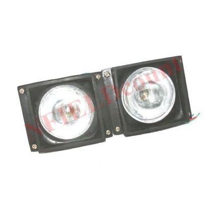 S2U Headlight Headlamp Set Rectangular Massey Ferguson 4225 4245 4255 4260 4265