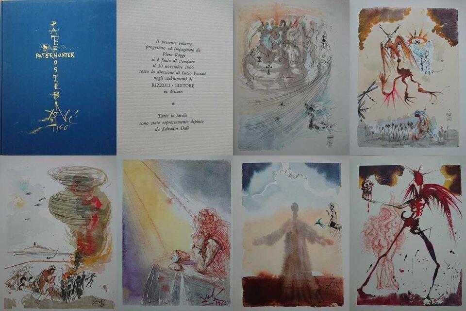 Litografier, Salvador Dali