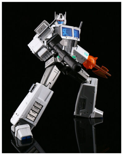 New Transformers MS-TOYS MS-01W White Optimus Prime G1 Ultra Magnus instock