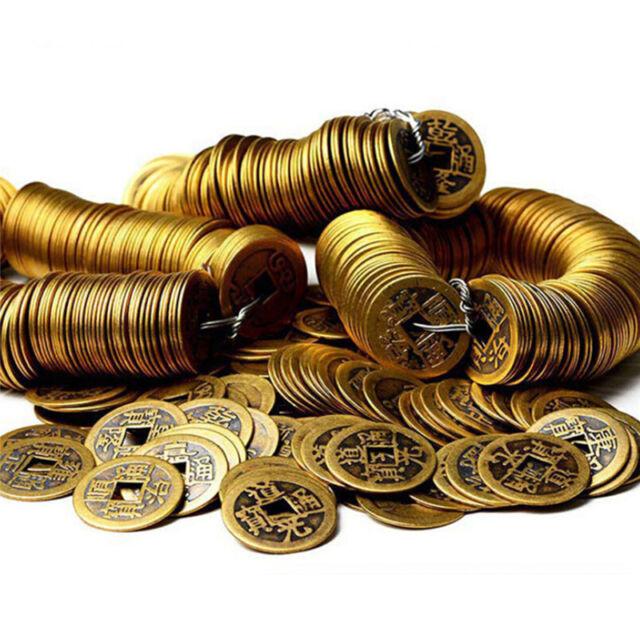 Auspicious Lucky Chinese Feng Shui Emperor Coin Good Luck ProsperousProtectionHQ