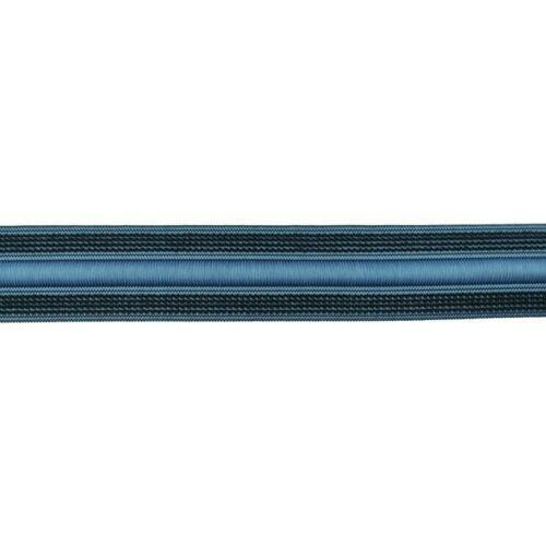 Gummiband 3 cm breit mit Kordelzug jeansblau elastischer Bund Preis=1m