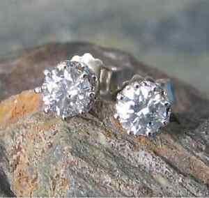 Brillant Diamant Ohrstecker 585 Weißgold 14 Karat Gold 0,82ct Solitär Ohrstecker HeißEr Verkauf 50-70% Rabatt