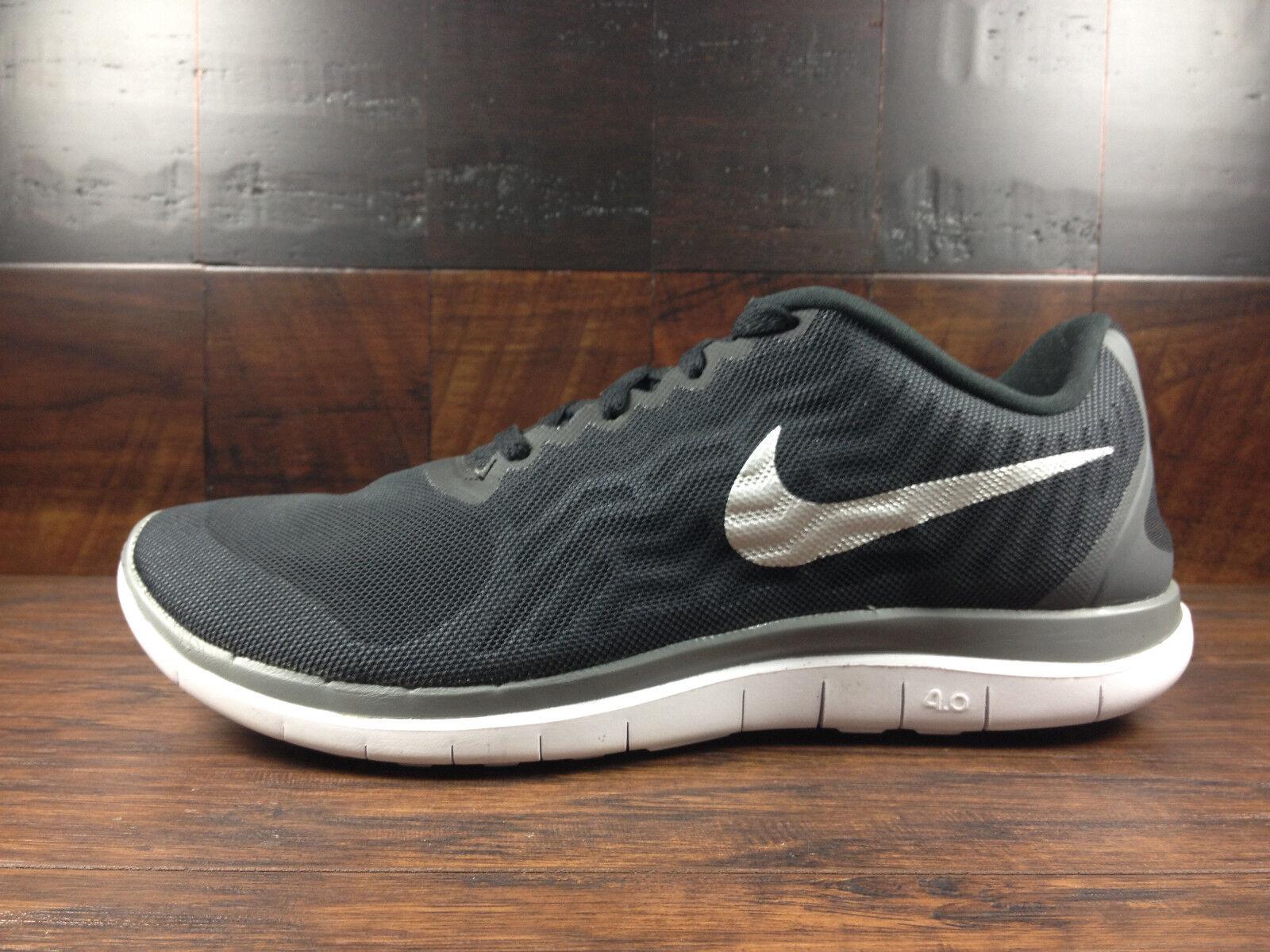 Nike FREE 4.0 (Black / Silver / Cool Grey) Running [717988-001] Men Sz 7 - 13