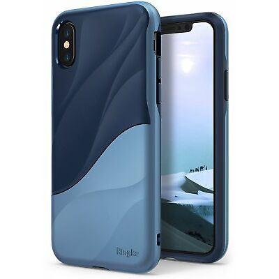 For iPhone X 10 | Ringke [WAVE] Shockproof PC TPU Dual Layer Design Case Cover