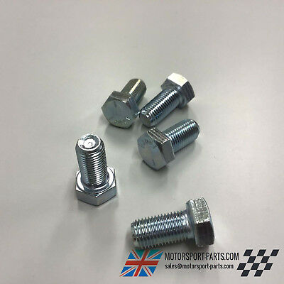 "3//8 UNF x  1/"" HEX SET BOLT OE769 0.375 X 1 INCH Packs of 4"