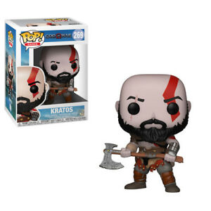 FUNKO-POP-GAMES-God-of-War-Kratos-w-Axe-New-Toy-Vinyl-Figure