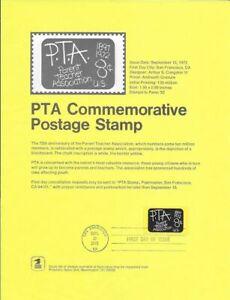 1463-8c-P-T-A-Stamp-Poster-Unofficial-Souvenir-Page-Flat-HC
