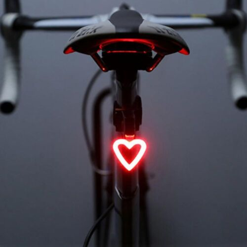 Fashion Safety Rechargeable Bicycle Warning Rear Lamp LED Bike Tail Light