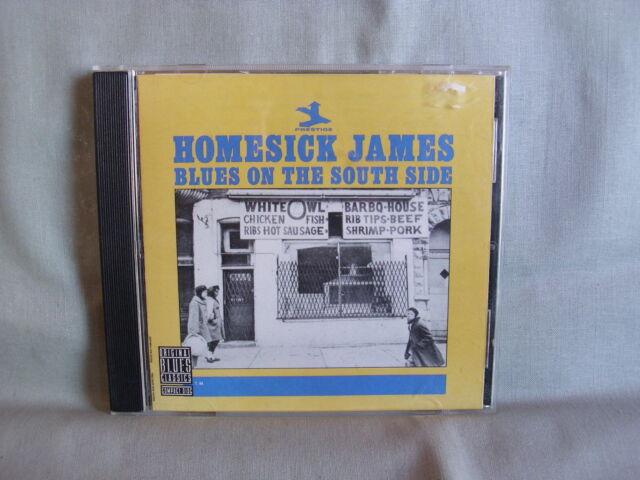 Homesick James- Blues on the South Side- ZYX/ PRESTIGE- Made in Germany 1990 NEU