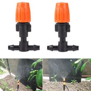 10Pcs-Orange-Flower-Misting-Atomizing-sprinkler-Nozzles-Tee-Sprayer-Greenhouse