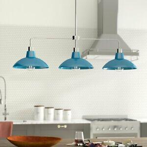 Delk 3 Light Kitchen Island Pendant Modern Light Lamp Shades Bulb Holder Ebay