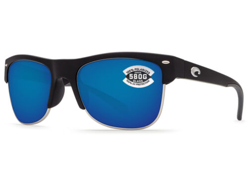 Blue Mirror 580 Glass 580G NEW Costa Del Mar PAWLEYS Black