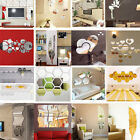 3D Mirror Decal Art Mural removable Wall Stickers Home Room DIY Decor Decoration