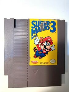 *Super Mario Brothers Bros 3 Original NES Nintendo Game Tested Working Authentic