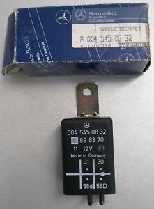 Relais-Beleuchtung-Instrument-Schalter-Mercedes-Benz-W124-W126W201-A0045450832