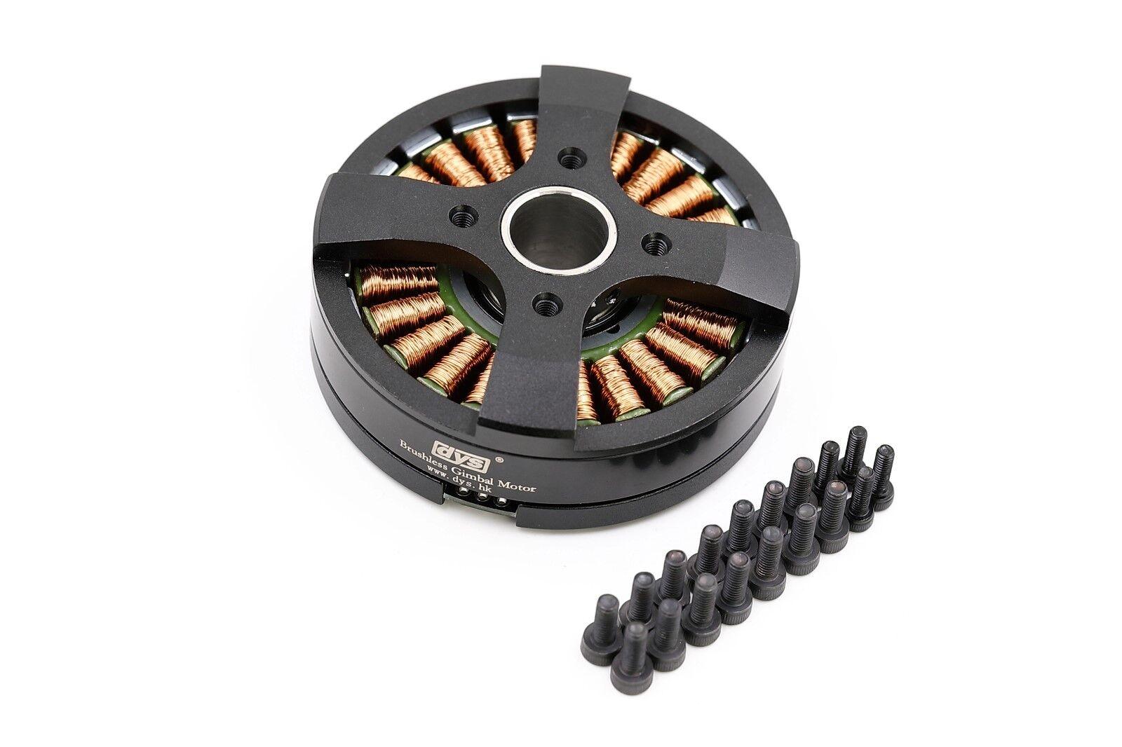 DYS BGM5208-75SR 75Turns Brushless Gimbal Motor for 5D2 DSLR Camera w/ slip-ring