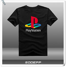 Sony Playstation PS Button / Logo 20th Anniversary short sleeves cotton T-shirt