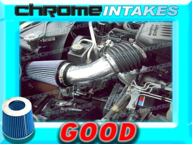 BLUE NEW 99 00 01 02-04 JEEP GRAND CHEROKEE 4.0L I6 4.7L V8 AIR INTAKE KIT S