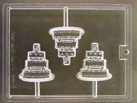 5th Celebration Tier Cake Birthday Anniversary Lollipop Candy Mold Party Favors