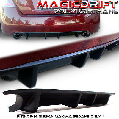 Made for 13 14 Nissan Maxima Sedan JDM Rear Bumper Under Diffuser Lip Urethane