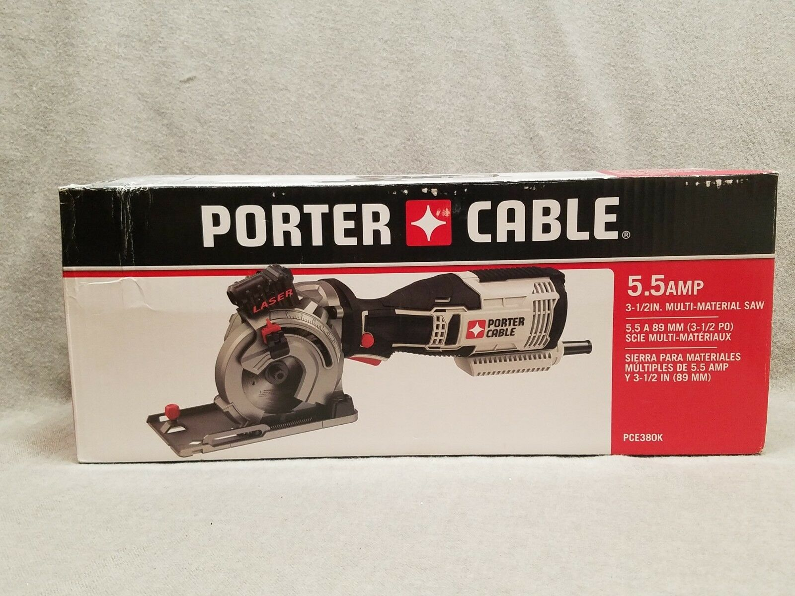 Porter Cable Corded Circular Saw 5.5 Amp 3-1 2-in Compact Aluminum Power Tool