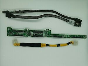 HP-Proliant-DL360-G5-DL365-Server-SAS-Backplane-with-Power-Cable-and-signal-cabl