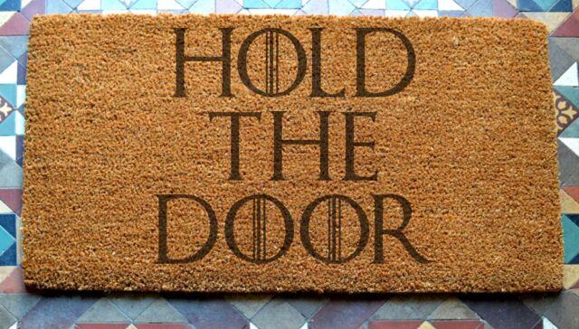 Hodor Hold The Door Door Mat 400 x 600 mm