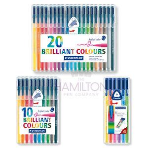 STAEDTLER triplus couleur Fibre-tip stylos-Pack de différentes tailles  </span>