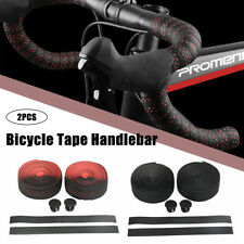 2PCS Bicycle Handlebar Tape Bar Drop Wrap Cycling Road Bike Anti-Vibration EVA