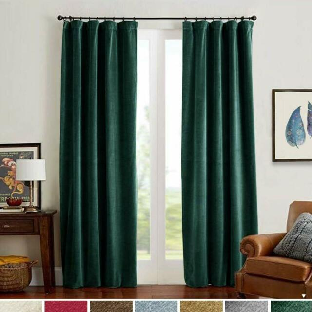 Deconovo Blackout Curtains Drapes Room Darkening Shades