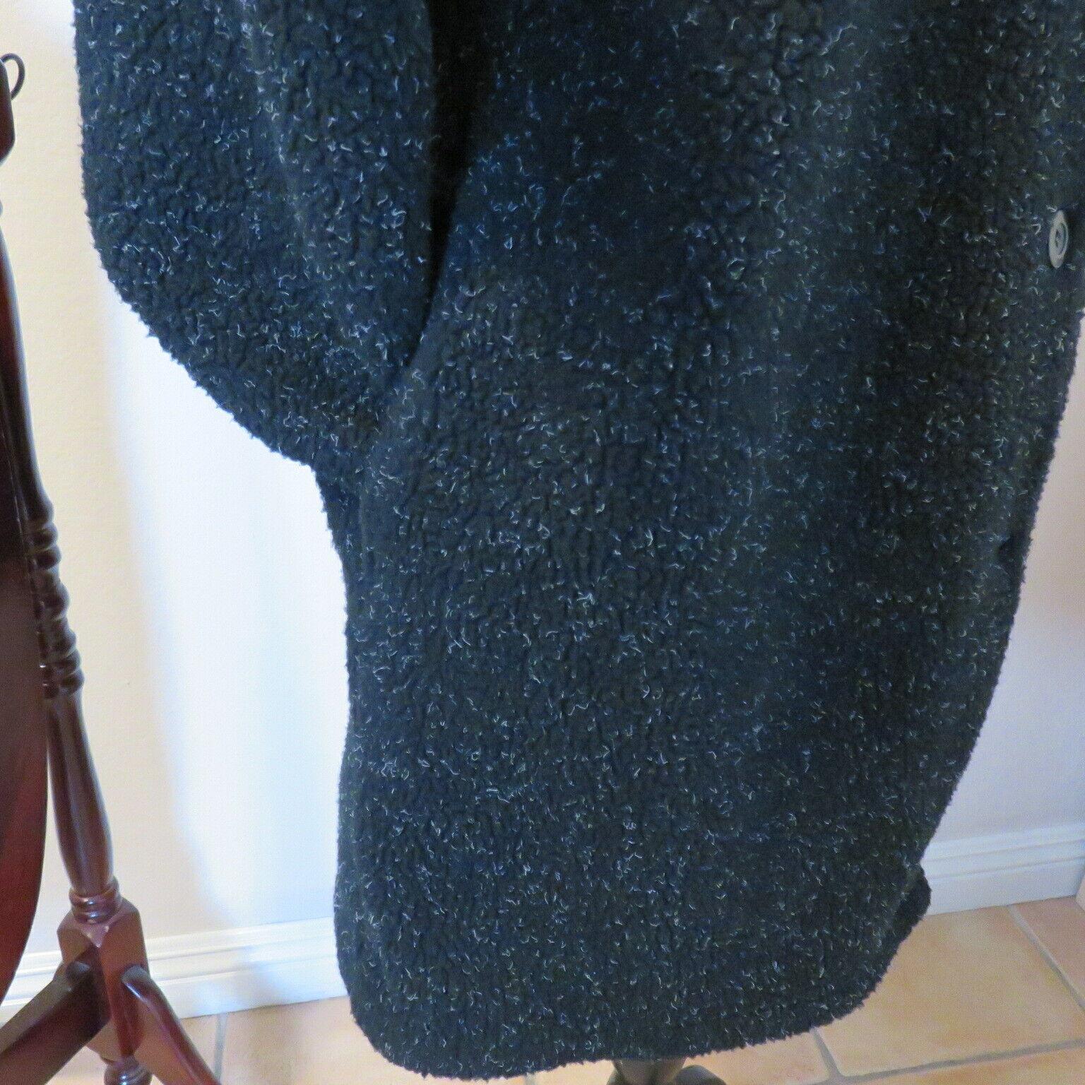 Roaman's M Fleecy Hooded Pockets Duffel Coat Wome… - image 4