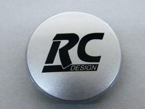 Original RC tapacubos Z 06 m plata para llantas de aluminio embellecedores Z 06 l 55//60 mm