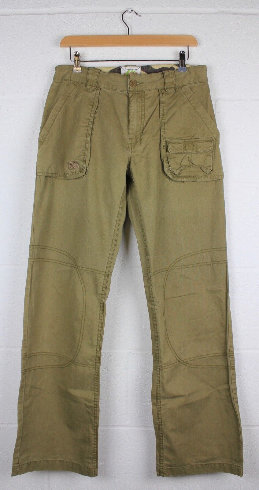 DRUNKNMUNKY FREESTYLER CARGO TROUSERS - WEED - RRP