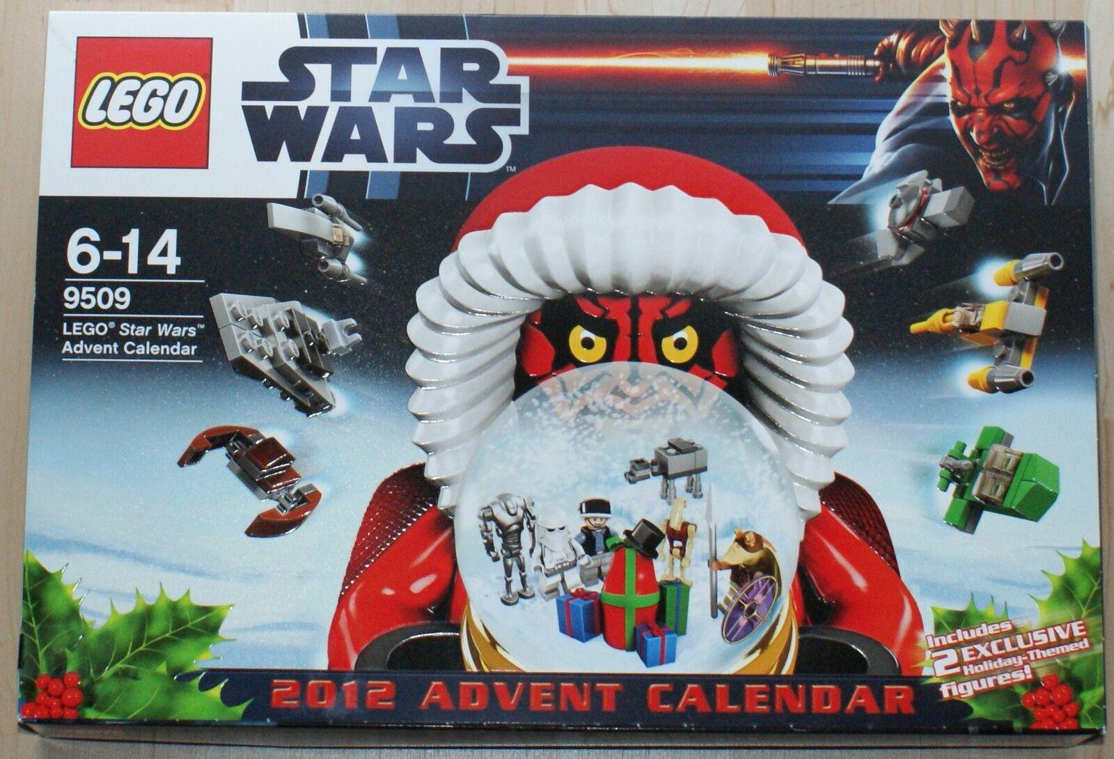 Lego-Star Wars - 9509-calendario de Adviento 2012-nuevo-completo-en su embalaje original