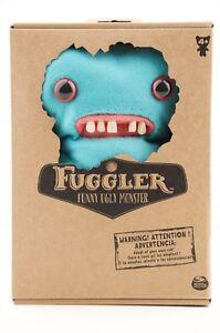 Spin-Master-FUGGLER-Funny-Ugly-Monster-PLUSH-TEETH-Blue-9-034-NIB-Rare