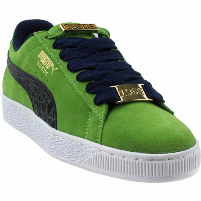 Puma Suede Classic B-Boy Fabulous Infant Sneakers Casual Sneakers Green  Mens -
