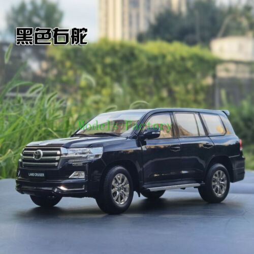 KengFai 1/18 Toyota Land Cruiser LC200 LHD RHD Diecast Model Car Gift Black