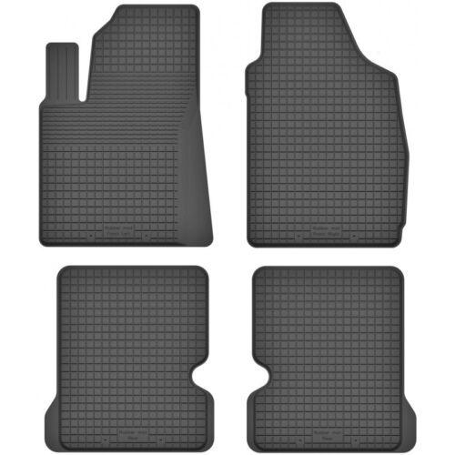 4-teile Bj. 2003-2012 ein Set Gummimatten Fußmatten 1.5 cm Rand FIAT PANDA II