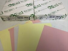 - One 8.5 x 14 250 Sets Ream 232047 Canary//White 1 Excel One Carbonless 2-Part Reverse Paper