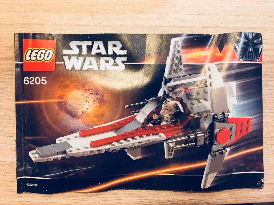 Lego Star Wars, 6205 V-Wing Fighter