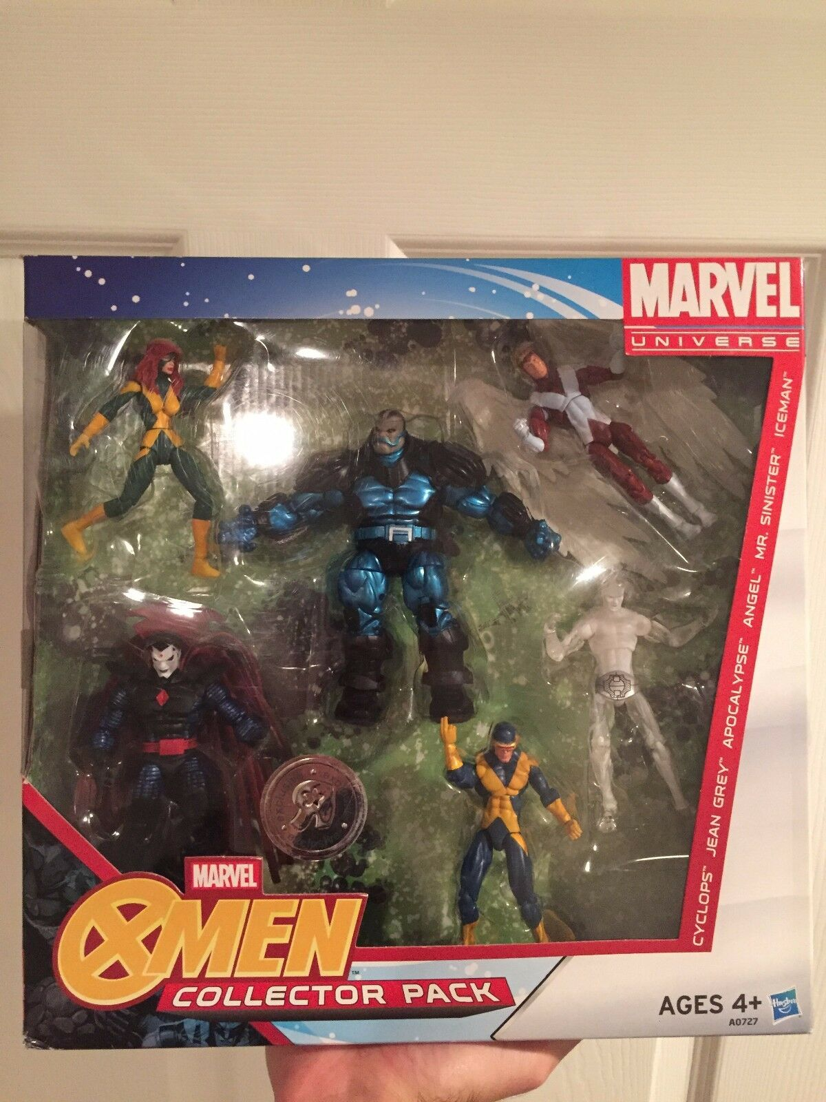 Marvel Universe TRU X-Factor X-Men X-Men X-Men Apocalypse Sinister Jean Iceman Angel Cyclops 0fb6ff