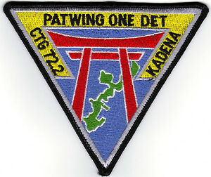 Details about PATWING ONE Det Kadena (US Navy Squadron Patch)