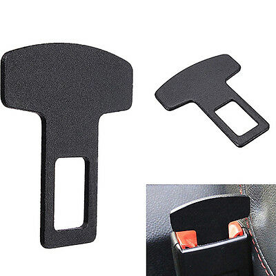 Trendy Car Accessories Safety Seat Belt Buckle Alarm Stopper Eliminator Clip