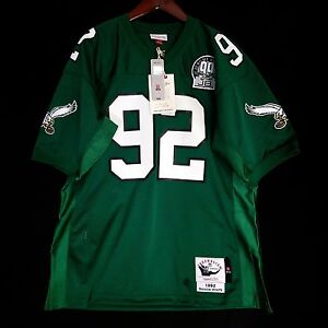 38540b116db 100% Authentic Reggie White Mitchell & Ness 92 Eagles NFL Jersey ...