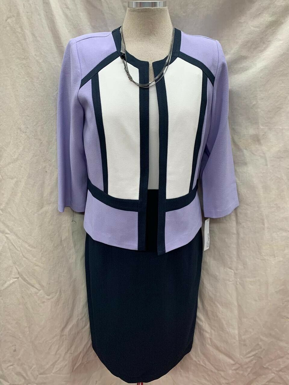 SANDRA DARREN DRESS SUIT NEW WITH TAG. SIZE 14 DRESS LENGTH 39  RETAIL 129