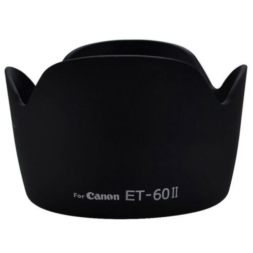 ET-60 II Flor parasol para  EF 75-300mm f//4.0-5.6 Negro H1R8