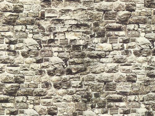 Grundpreis 1qm=35,42 Euro Mauerplatte Granit TT NOCH 57510 Spur H0 32x15cm